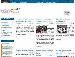Visitez le site du collège Villebois-Mareuil de Montaigu