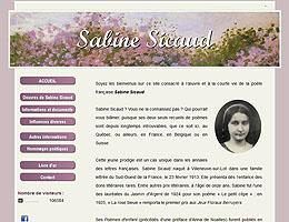 Le site de Sabine Sicaud